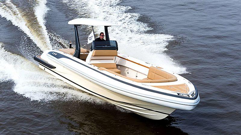 Semi Custom D-RIB 9.25M tender exterior
