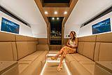 Xtenders 9.7M Limousine tender interior