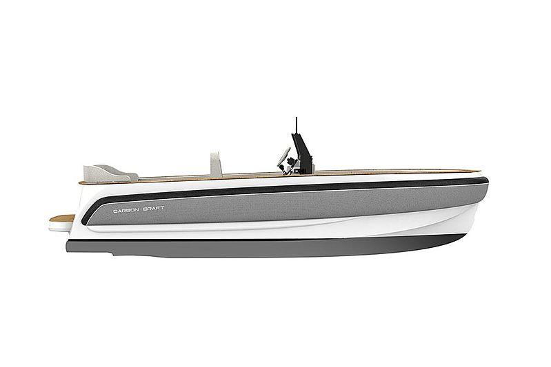 CC160 Diesel-Jet tender exterior design