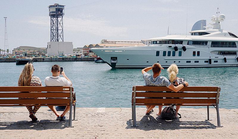 Z yacht by Amels in Barcelona