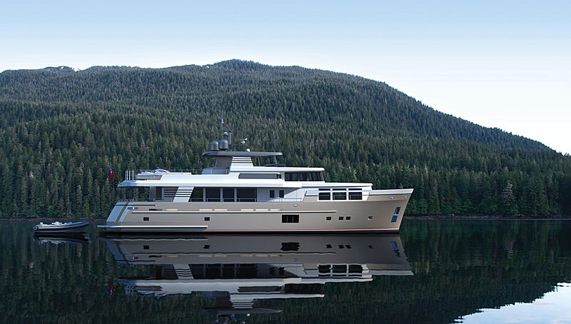 Van der Valk Explorer 28M RPH yacht exterior design