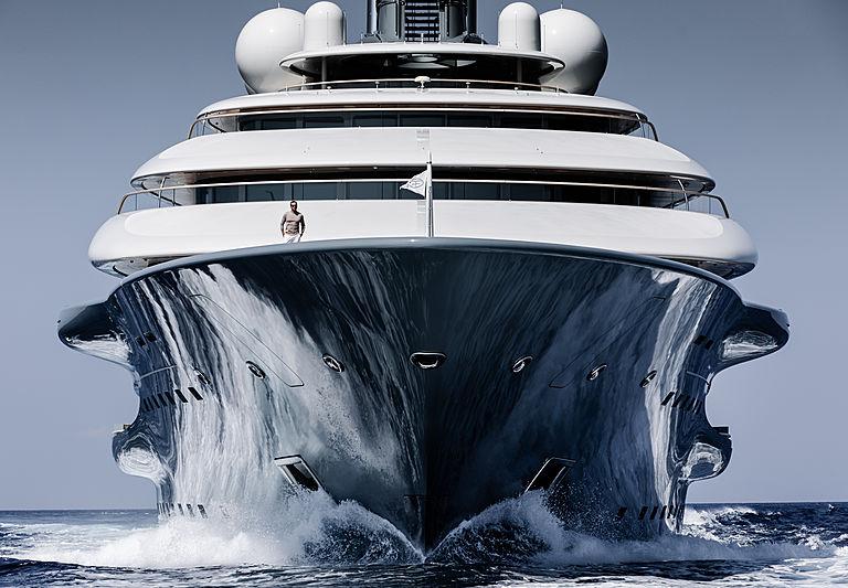 Flying Fox yacht by Lürssen exterior