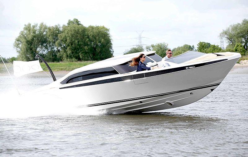 Yachtwerft Meyer Full Custom Limousine Tender 9.4M cruising