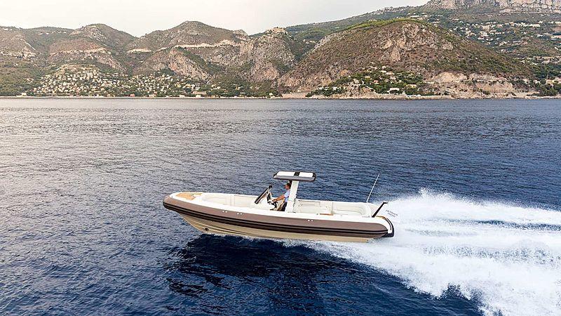 Yachtwerft Meyer Full Custom D-RIB Tender 9M cruising