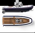 Xtenders 9.9M D-RIB tender exterior design