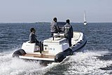 Xtenders 8.0M People Carrier tender cruising