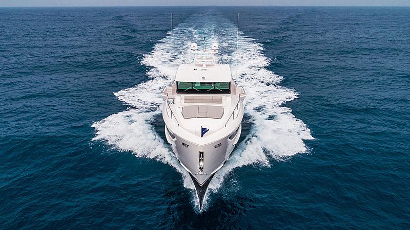 Horizon FD80/601 yacht exterior