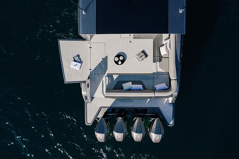 Azimut Verve 47 yacht tender