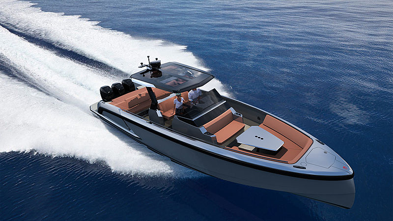 Vanquish VQ40 yacht tender