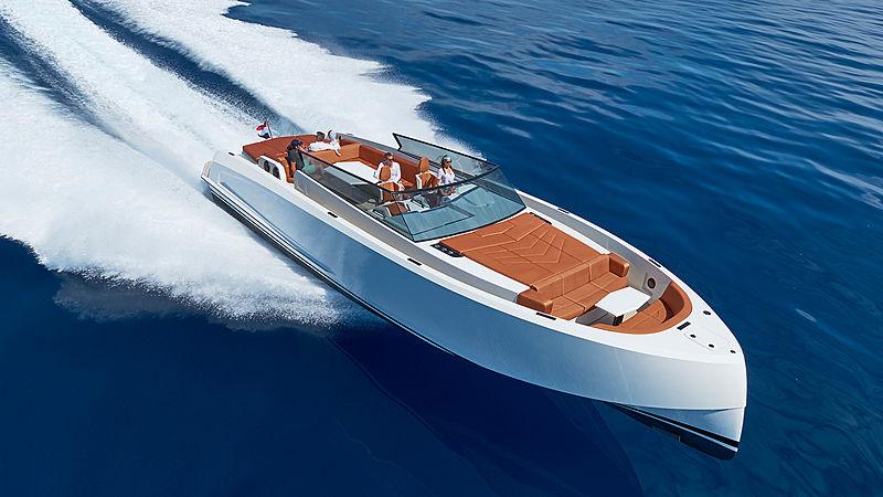 VANQUISH VQ48 tender Vanquish Yachts