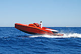 Maori 30ft tender cruising