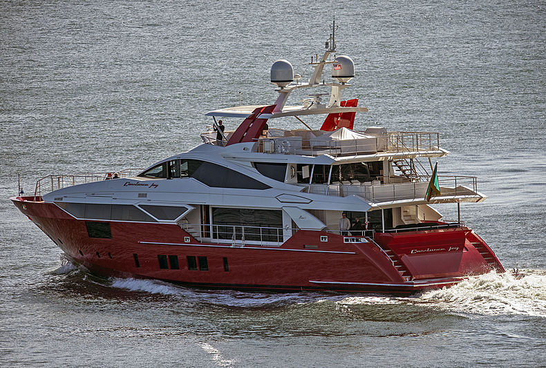 Constance JOy yacht by Benetti in Port Everglades