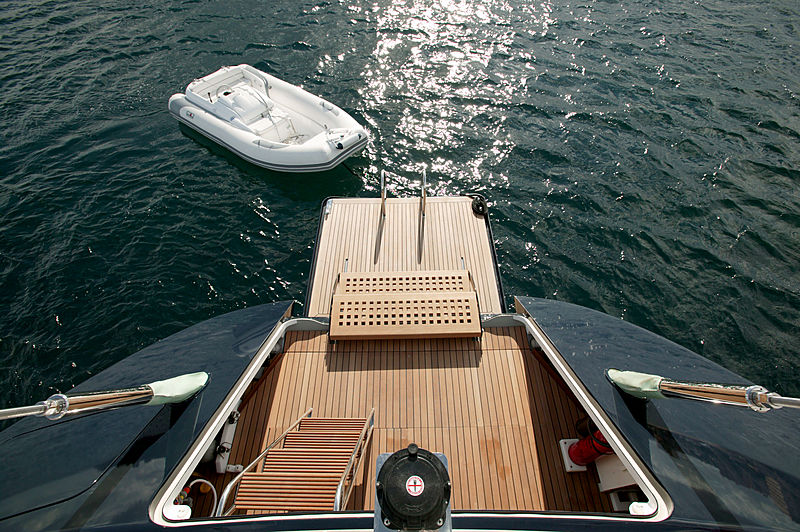 Mbolo yacht stern