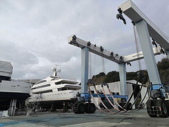 Palumbo Savona refit shipyard