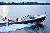 Hinckley Runabout 29 tender cruising