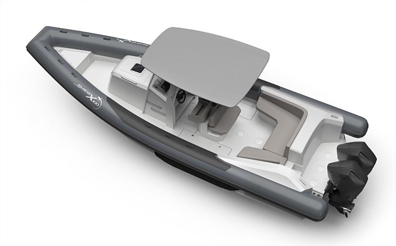 Iguana X100 RIB yacht tender