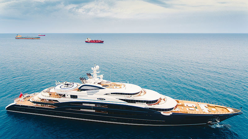 Serene yacht by Fincantieri in Limassol