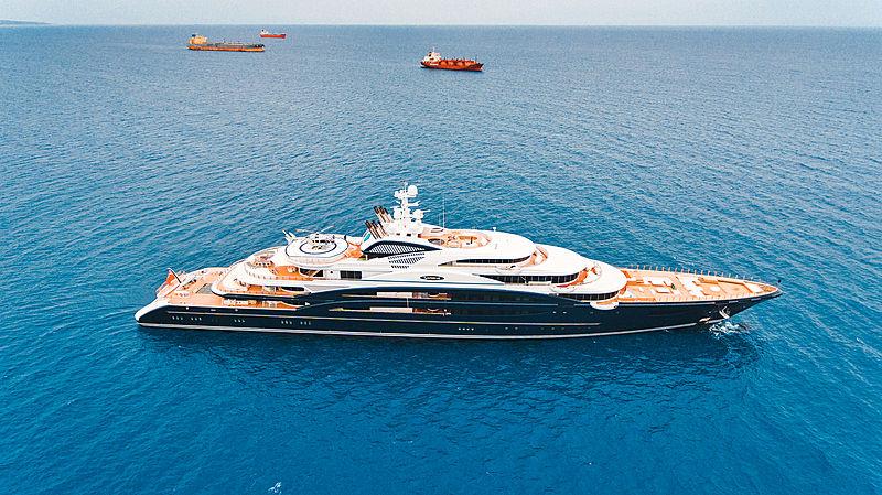 SERENE yacht Fincantieri