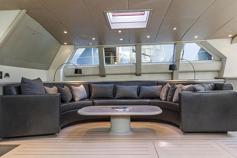 Iemanja yacht interior