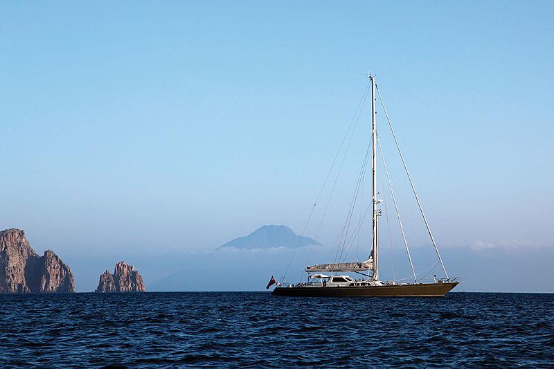 Iemanja yacht anchored
