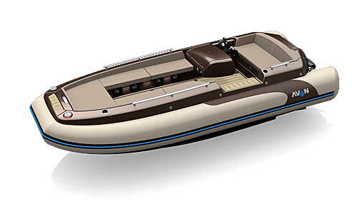 AVON EJET 450 tender Avon Marine Tenders