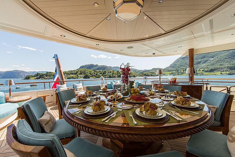 Sea Owl yacht deck