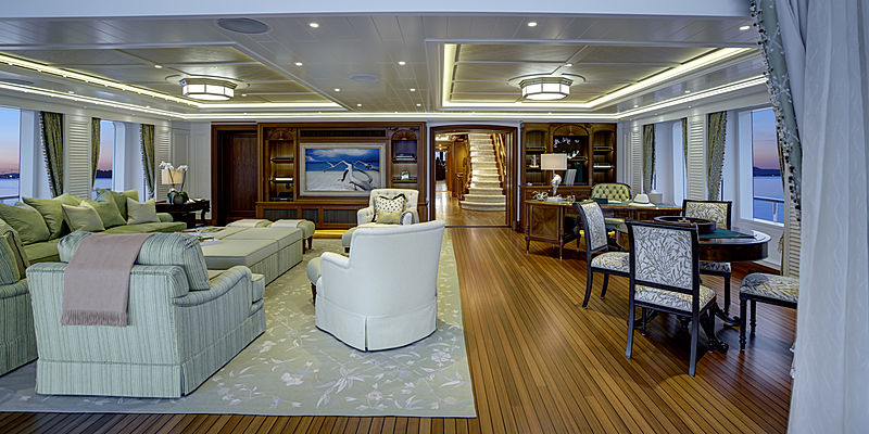 Sea Owl yacht interior