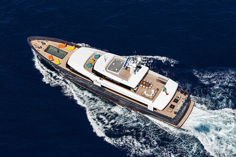 My Logica yacht aerial