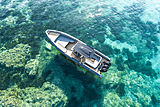 Novamarine Black Shiver 120 tender exterior