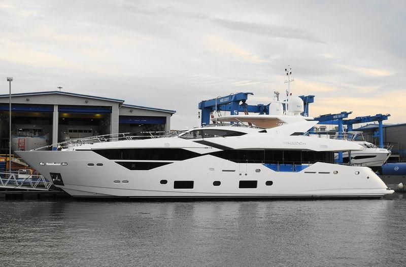 FREEDOM  yacht Sunseeker
