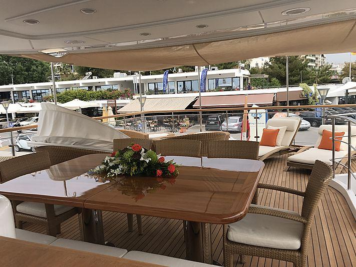 Nakessa yacht deck