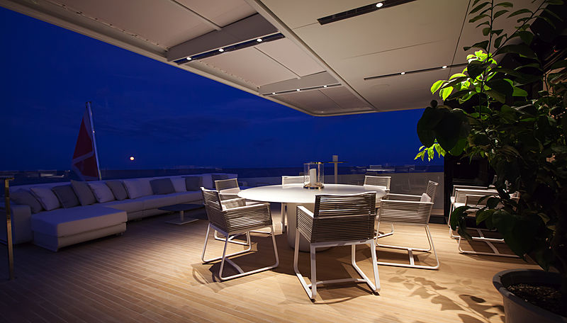 Forever yacht deck