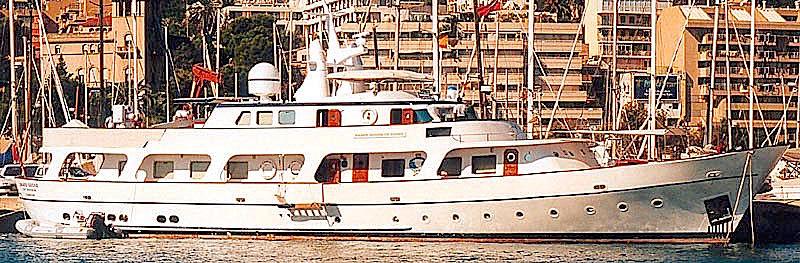 BRAVE GOOSE OF 1972 yacht Tough Bros