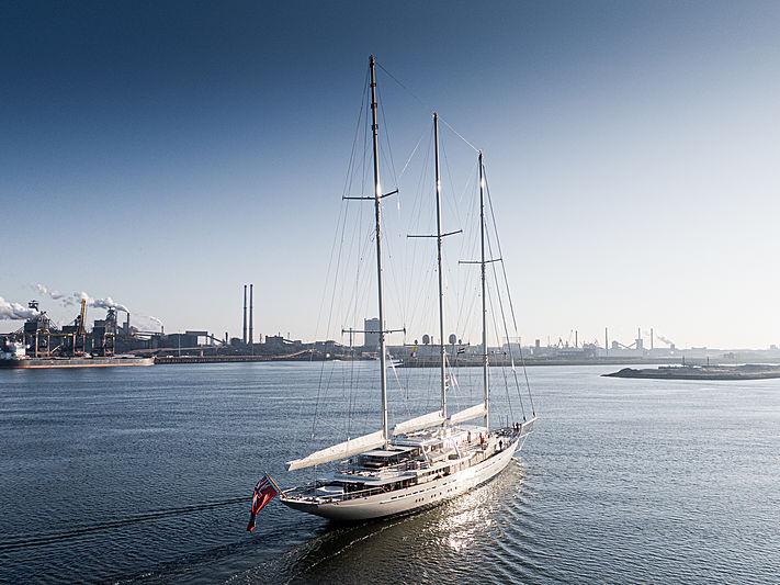 Athena yacht by Royal Huisman in IJmuiden