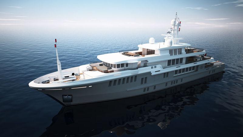 YOGI yacht Turquoise