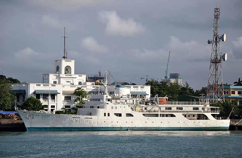ANG PANGULO yacht Ishikawajima-Harima Heavy Ind.