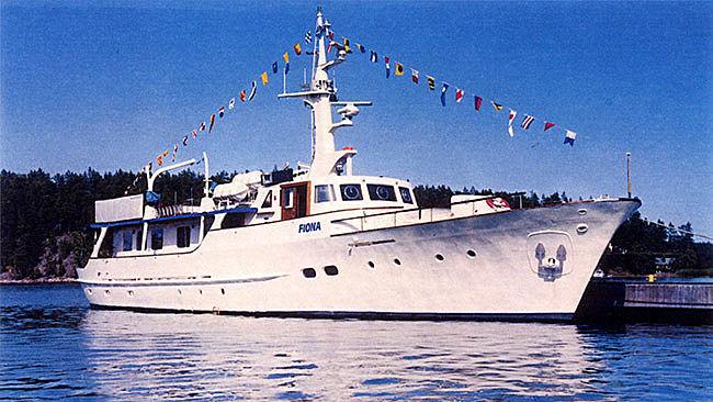 FIONA  yacht Schichau Unterweser AG