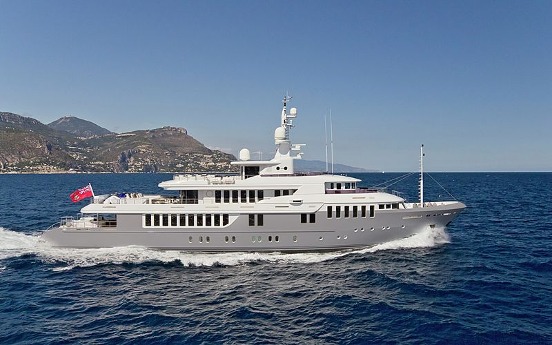 BELLA 2 yacht Turquoise