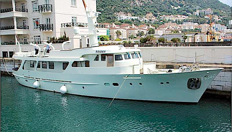RAIDER yacht Schichau Unterweser AG