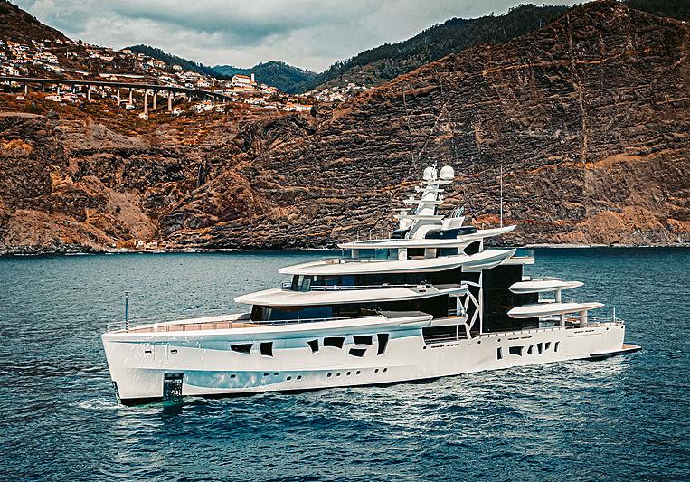Artefact yacht by Nobiskrug in Madeira