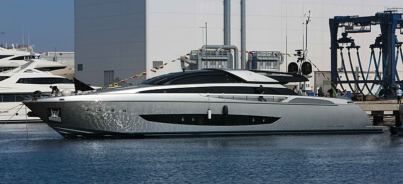 SOL Riva 122 Mythos yacht launch