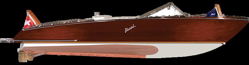 Boesch 860 tender exterior