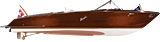Boesch 710 Costa Brava tender exterior