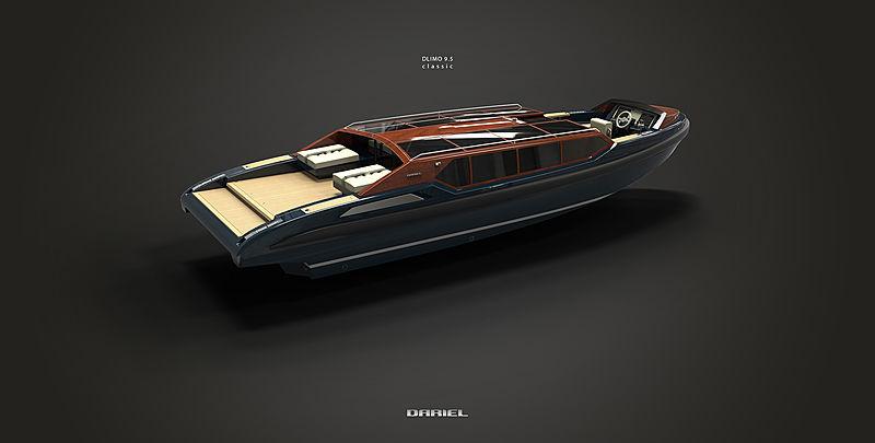 DARIELimo 9.5 Classic tender exterior