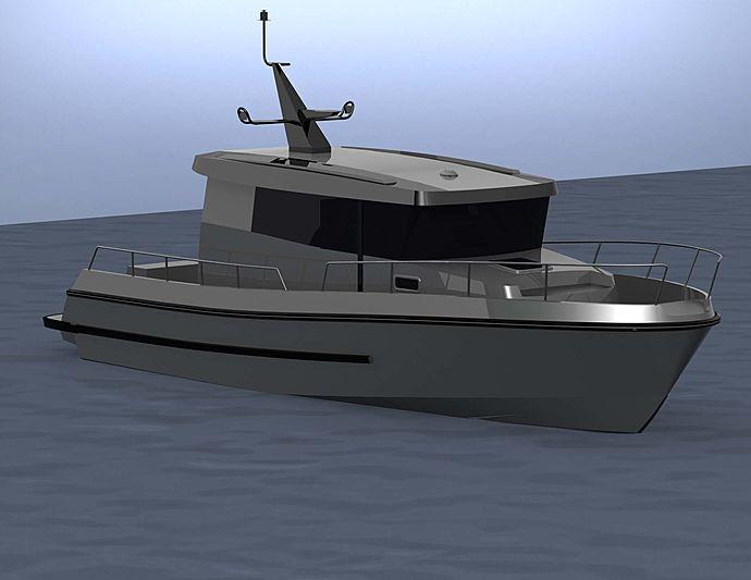 BRIZO BY34 tender Brizo Yachts
