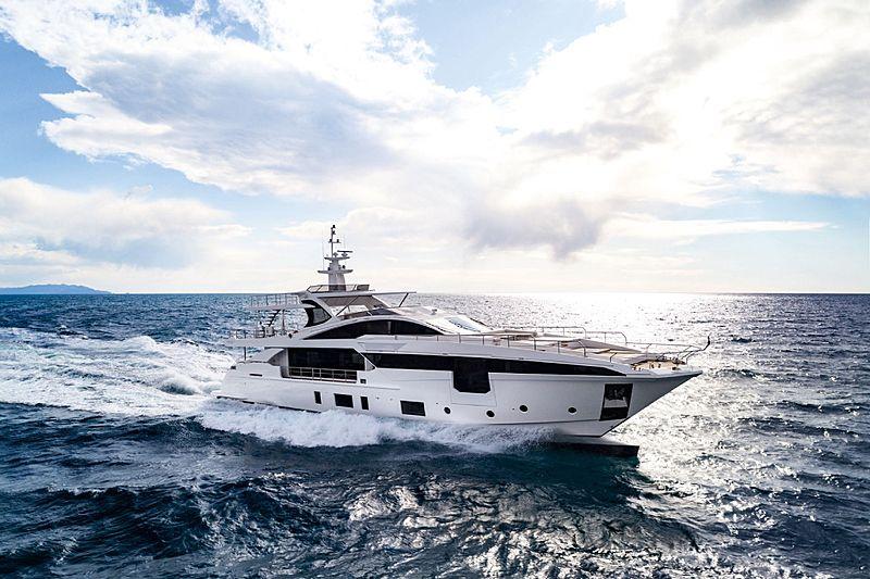 Azimut Grande 35 yacht