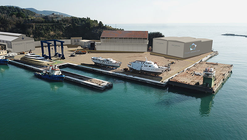 New Antonini Navi shipyard in La Spezia