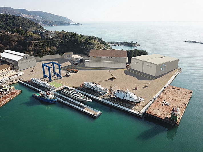 New Antonini Navi shipyard in La Spezia
