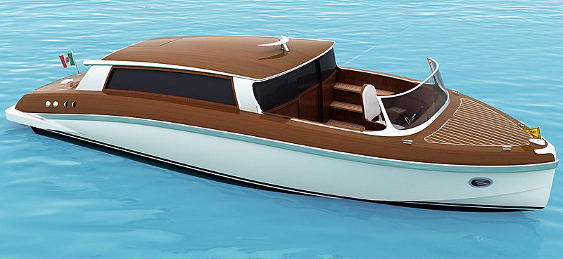 WOODEN BOATS TAXI TENDER 32 tender Wooden Boats