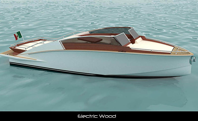 WOODEN BOATS ELECTRIC WOOD 26 tender Wooden Boats